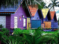 Colorful houses puzzle