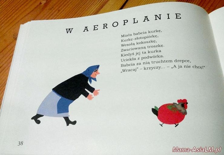 słoń trąbalski - w aeroplanie babcia goni kurkę