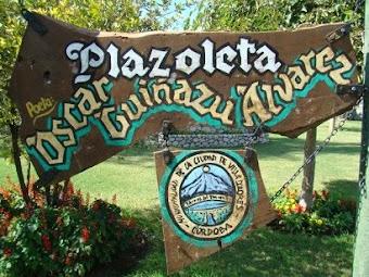 Plaza de lo Poetas: Plaza Oscar Guiñazú Alvarez