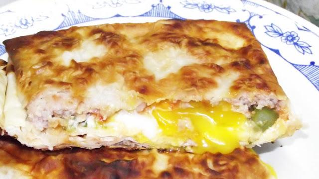 Завтрак в лаваше