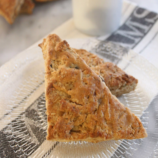 The Papered House: Vermont Maple Syrup Scones