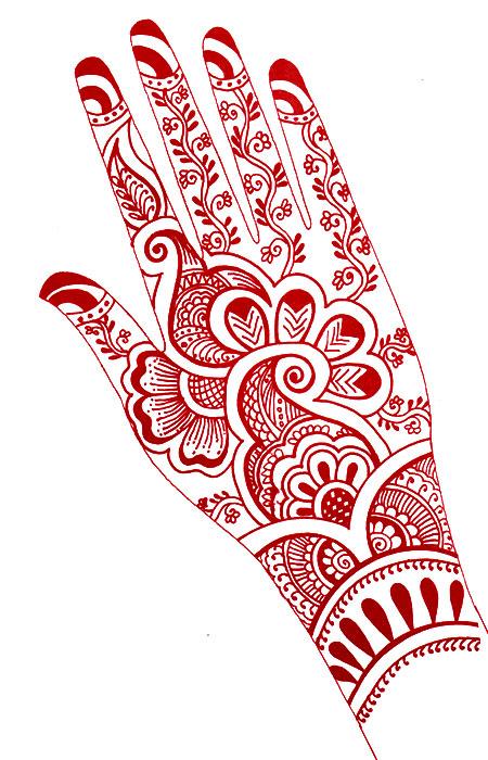 Mehndi Designs With Black Cone : Beautiful arabic mehendi cone designs for festival