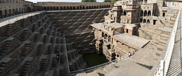 Panoramica Chand Baori
