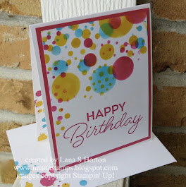 Saturday Stampers / Birthday Bonanza