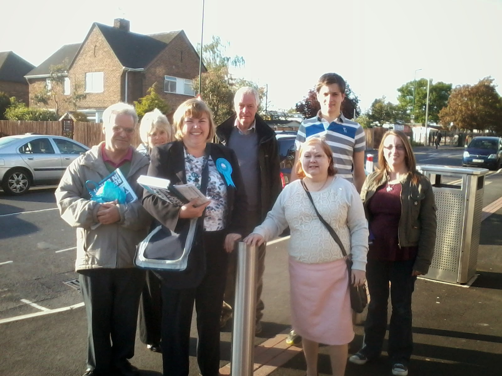 Thingselliottsays Meeting And Greeting People In Nottingham South