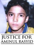 Justice for Aminulrasyid