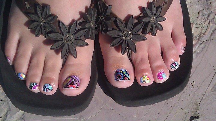 Toes by Steph: SheeKee - Shellac - Gelish - Glitter Toes in Utah