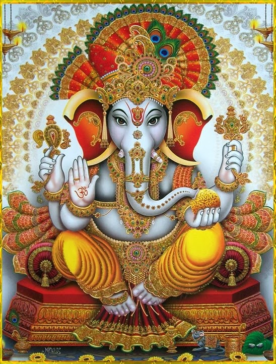 Lord Ganesha, Remover of Obstacles
