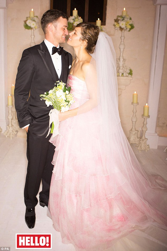 Justin Timberlake and Jessica Biel Wedding Pictures - My Face Hunter
