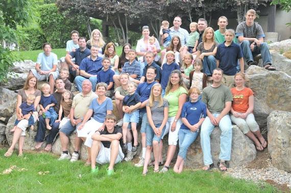 Jon's Family 2010