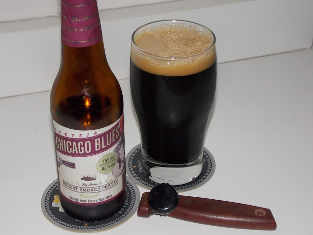 Cerveja Chicago Blues Robust Smoked Porter
