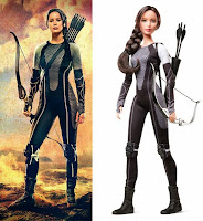 Barbie katniss inspiracion
