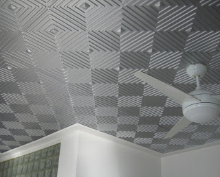 Installing Tin Ceiling Tiles For Wonderfully Decorated Home