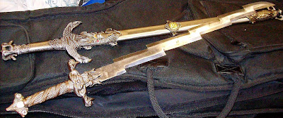 These swords were discovered at Salt Lake City (SLC). 