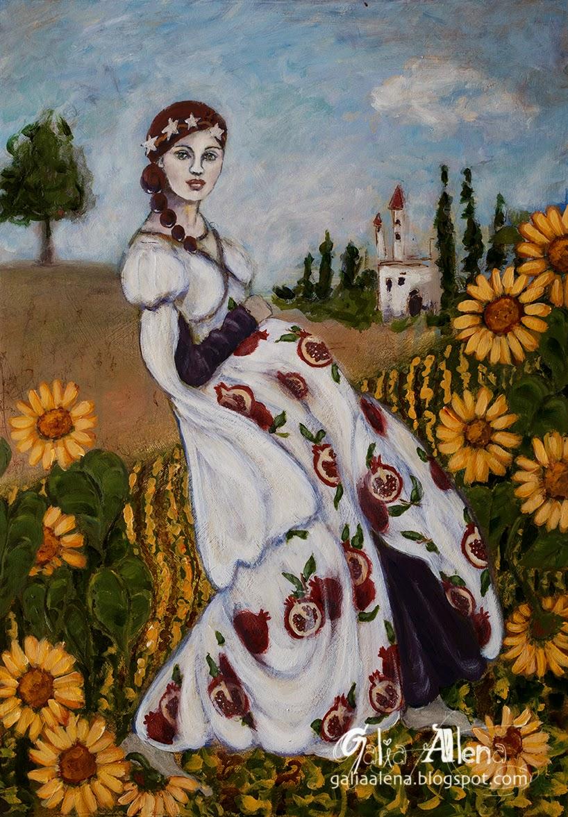 Galia Alena Earth Queen, Empress