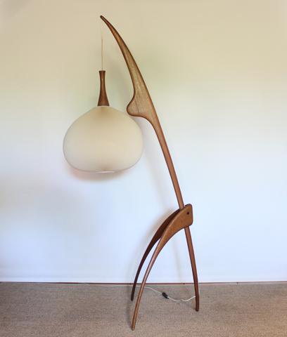 chicbaazar objets vintage 50 60 70 lampe mante religieuse rispal vintage. Black Bedroom Furniture Sets. Home Design Ideas
