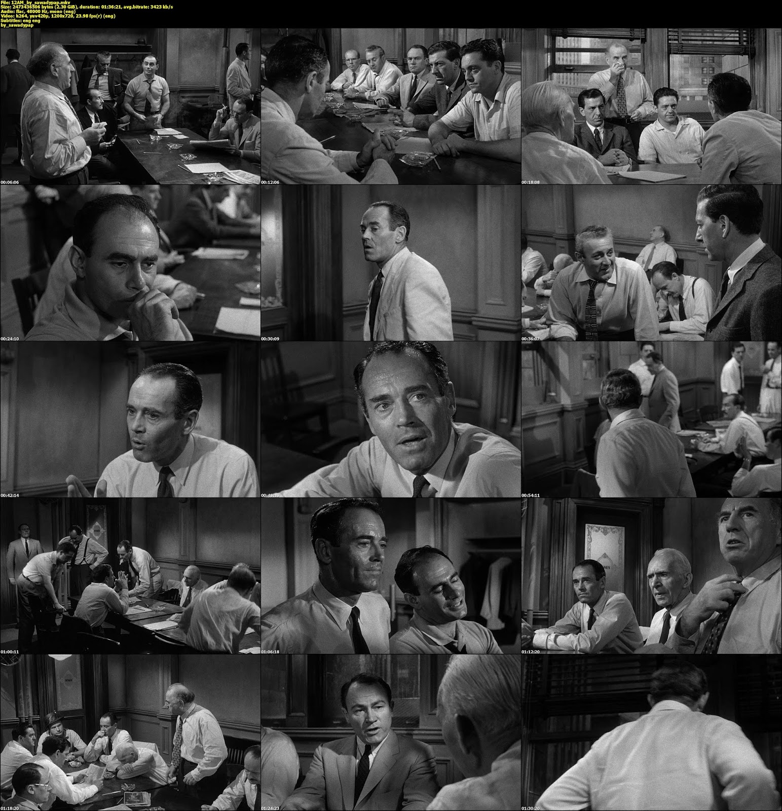 12 Angry Men [1957] [BluRayRip 720p] [Subtitulada]