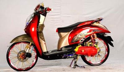 Modif Motor Honda Scoopy 2014