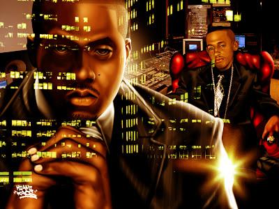 nasir jones - nas art - drawings of rappers