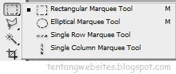 rectangular marquee tool