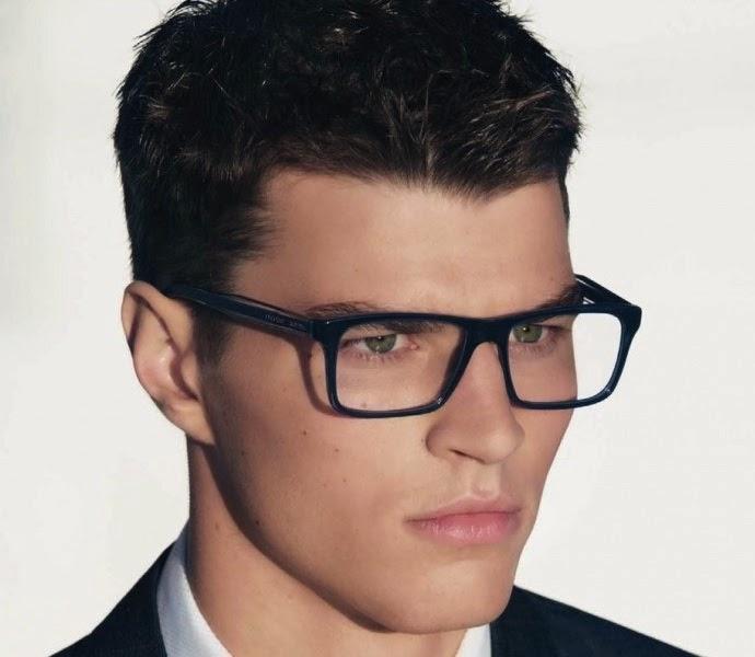 Moda cabellos peinados para hombres con lentes - Peinados modernos para hombres ...