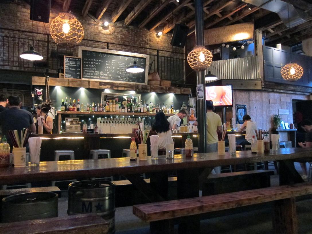 Han diana eats a food blog bia vietnamese in williamsburg for Food bar in restaurant