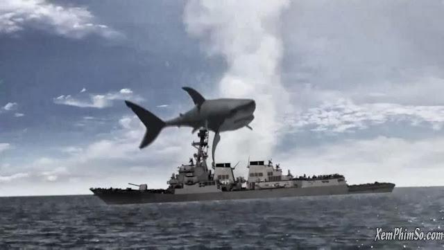 Đại Chiến Cá Mập xemphimso Apres Sharknado Mega Shark vs Mecha Shark 999x564