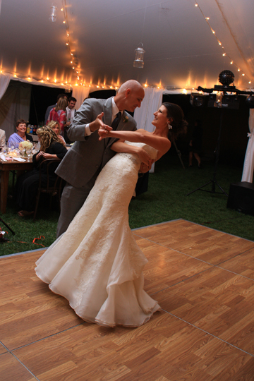 Breaux Vineyard Father and Bride Dancing| Whysall Photography