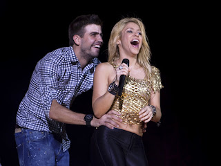 Shakira And Her Husband Gerard Pique Both Together In These Images Gallery 2013