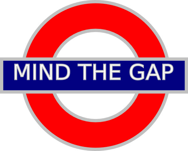 The Rambling of a Glad Man: Mind the Gap