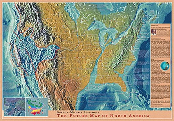 Glorious Hope Soli Deo Gloria Maps Of The Global Coastal - Us map after pole shift