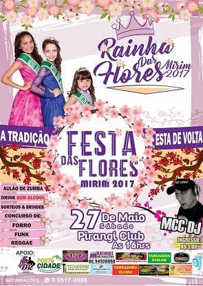 FESTA DAS FLORES MIRIM