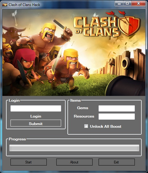 Clash Of Clans Hacks & Cheats V10.0b Specs & Features: