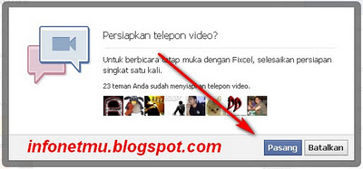 Video Call di Facebook