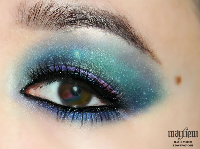 Mayhem: Galaxy Inspired Eyes