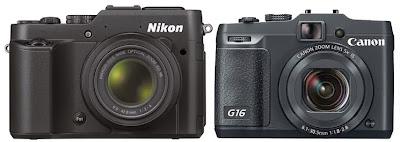 Nikon P7800 vs Canon G16, Nikon P7800, kamera digital baru, kamera DSLR, Full HD video, digital filter, art filter, layar vary angle, kamera baru, lensa zoom