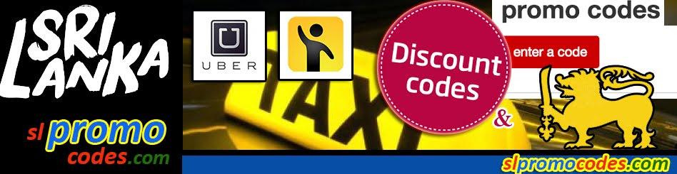 Uber Sri Lanka & PickMe.lk Taxi Promo Codes