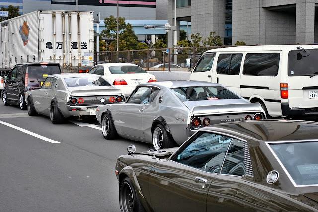 Nissan Skyline GT-R C110  stary japoński samochód oldschool klasyk sedan godzilla kultowy legenda