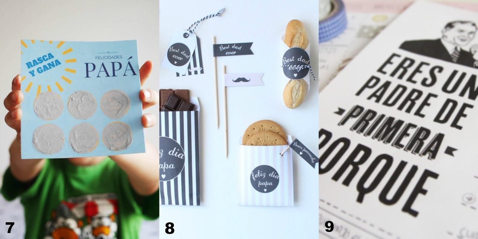 Recetas fáciles, manualidades y DIY: 12 regalos imprimibles para el ...