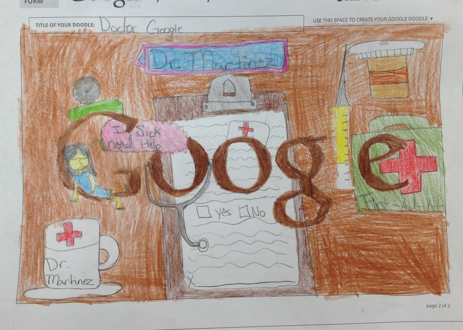 Google theme winner - The Great Thing About Doodle 4 Google Is That The Grand Prize Winner Gets A 30 000 Scholarship For College And Their School Receives A 50 000 Technology