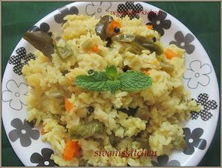 Vegetables Kichadi