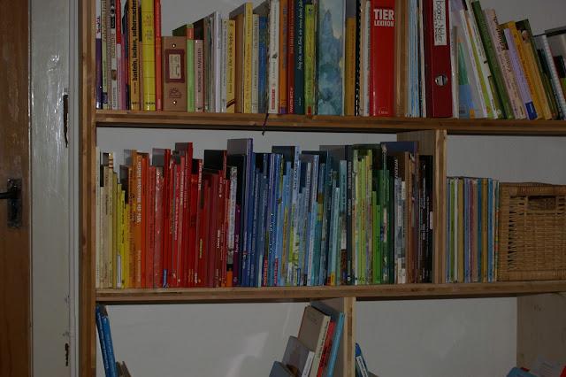 Kinderbücher ordnen