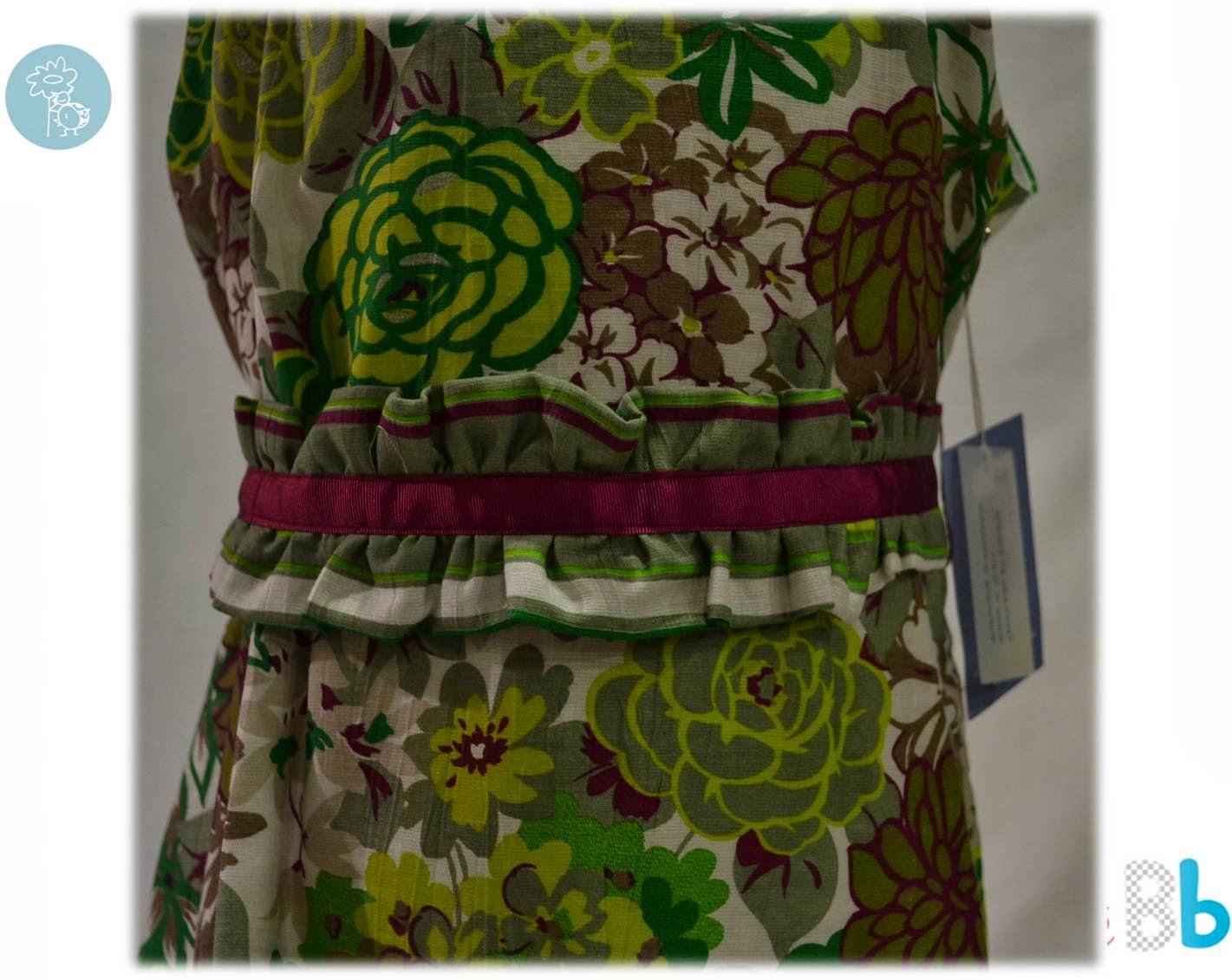 Babiné -Colección Primavera-Verano- Vestido detalle cintura