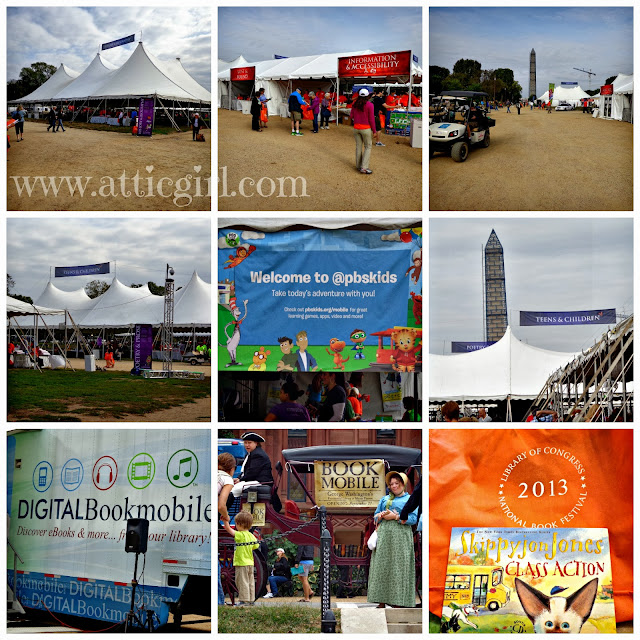 National Mall, DC events, book festivals