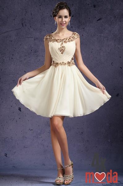 Красивые до колен платья