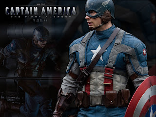 Captain America Movie Poster HD Wallpaper