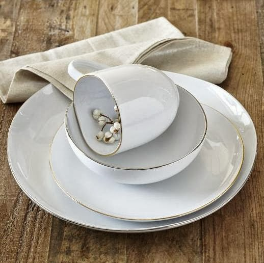 Organic Shaped Dinnerware