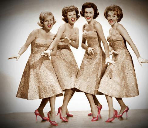 Los grupos musicales de los a os 50 the chordettes - Musica anos 50 americana ...