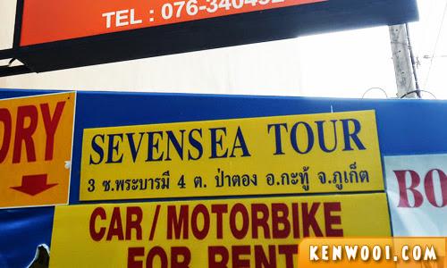 seven sea tour