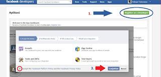 Cara Membuat Status Facebook dengan Via Apa Saja